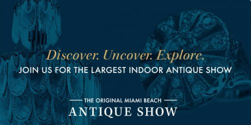 The Original Miami Beach Antique Show – January 26 – 29, 2019